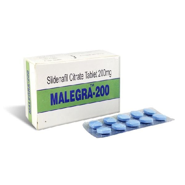 Malegra Sildenafil Citrate 200 mg foto
